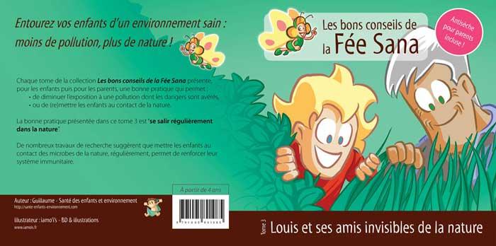 Louis et ses amis invisibles de la nature, la couverture - auteur : iamo'i's