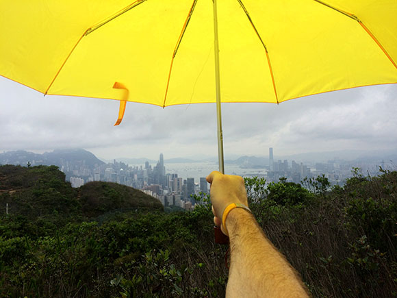Umbrella-over-Hong-Kong