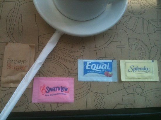 Coffee Sweetener Mathematics