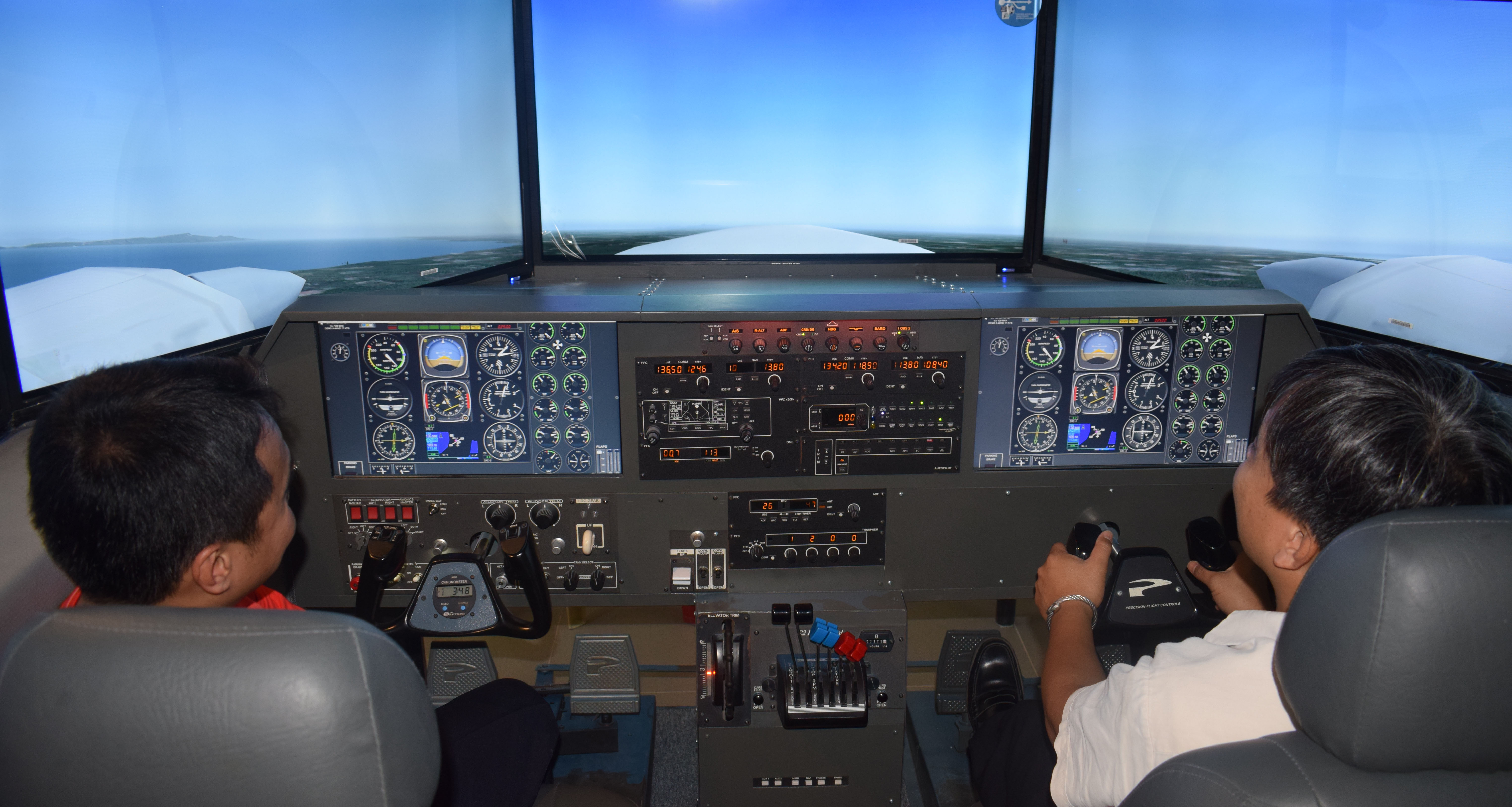 IAU Upgrades Flight Simulator