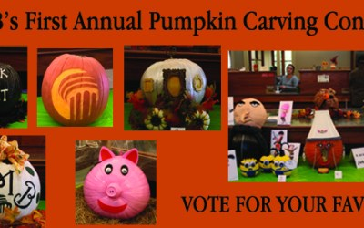 FMB's First Annual Pumpkin Carving Contest