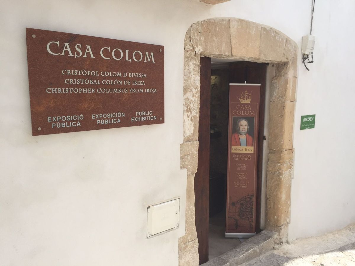 Cristóbal Colón es ibicenco