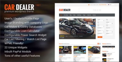 9 Killer Automotive WordPress Themes to Help you Sell Any Vehicles Online Easier