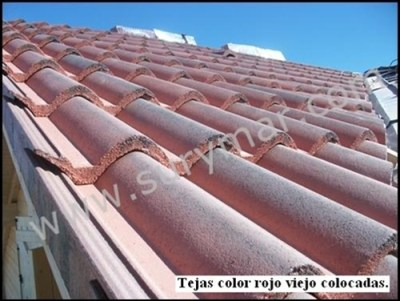 tejas de hormigón