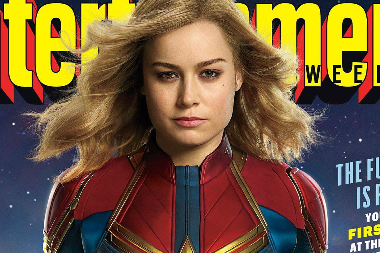 Captain Marvel  Movie  Everything We Know So Far   Digital Trends captain marvel news cast photos ew cover
