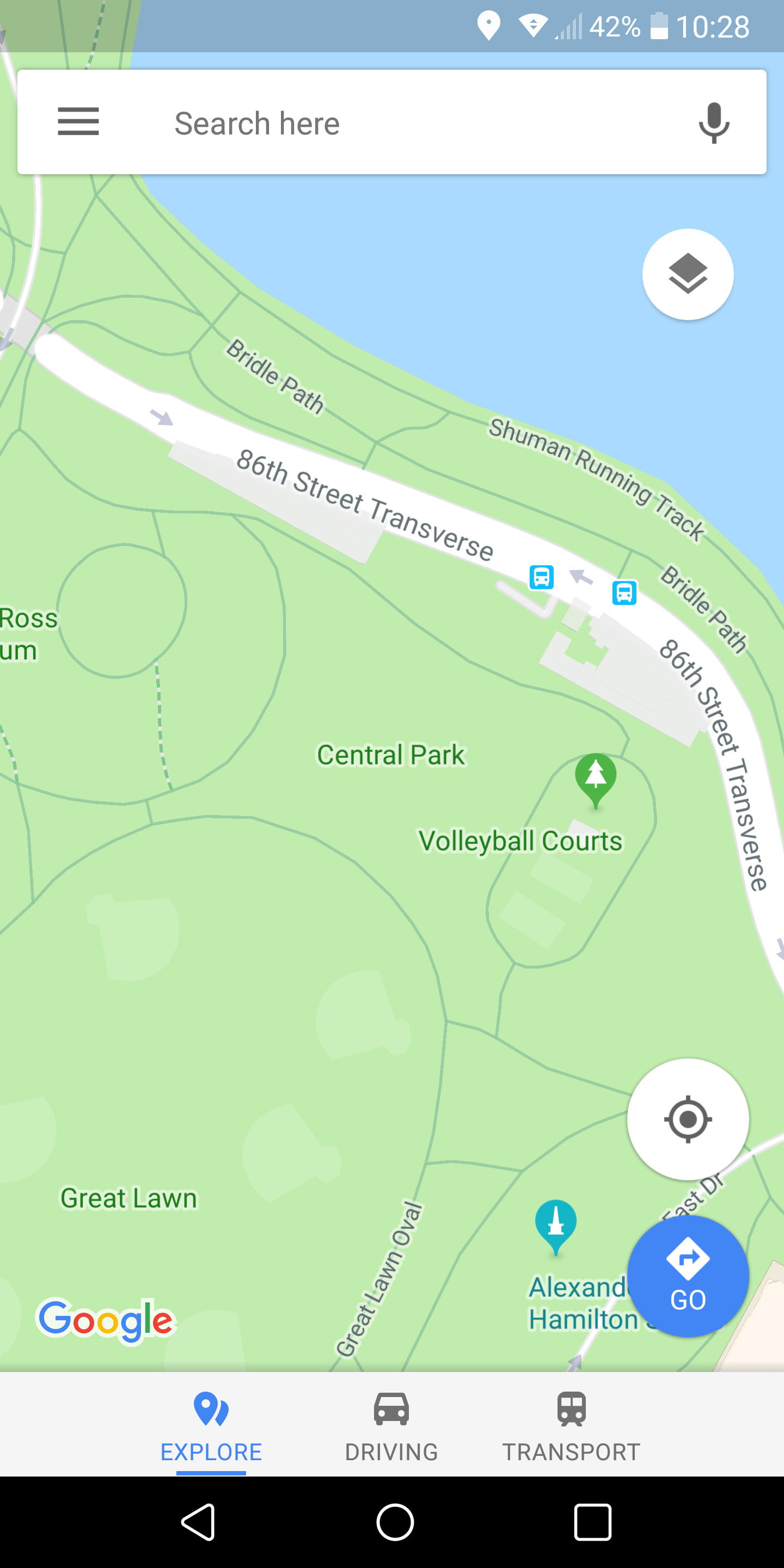 How to Use Google Maps   Page 2   Digital Trends If you zoom in on an area in Google Maps  say New York s Central Park  then  you ll see an option at the bottom of the screen that says Explore