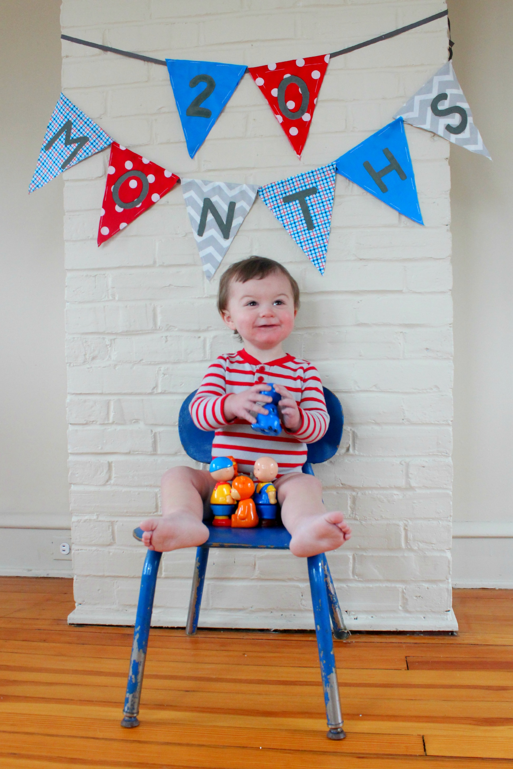 Marching Ahead: Owen's 20 Months Old!