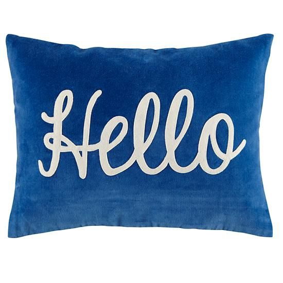 hello pillow
