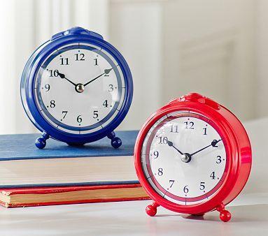 little red clock