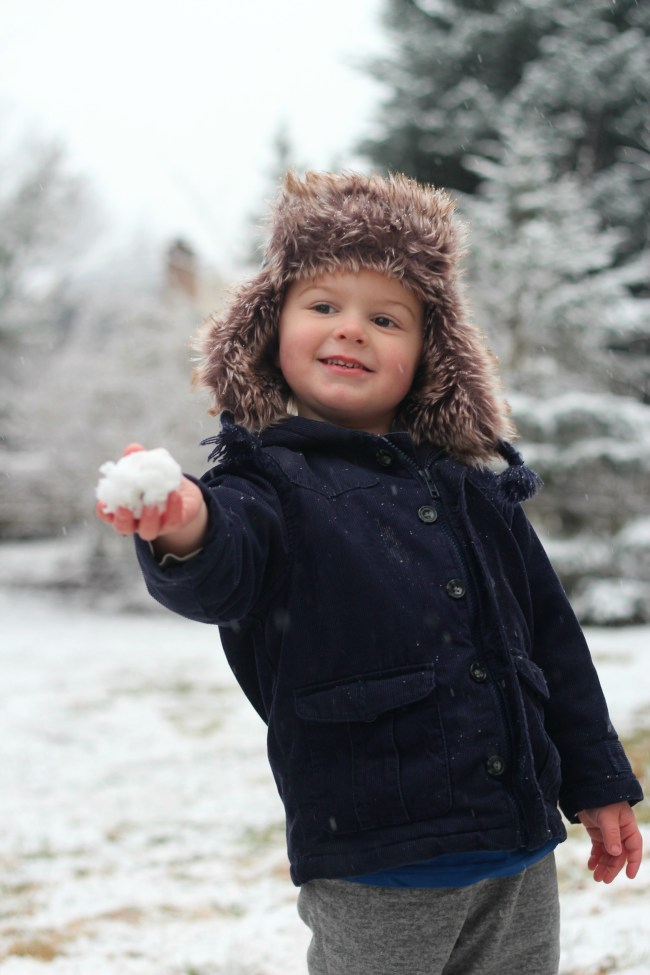 owen snowball fun