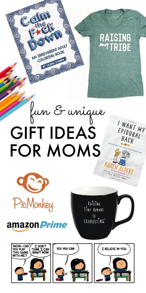 Fun and Unique Gift Guide for Moms