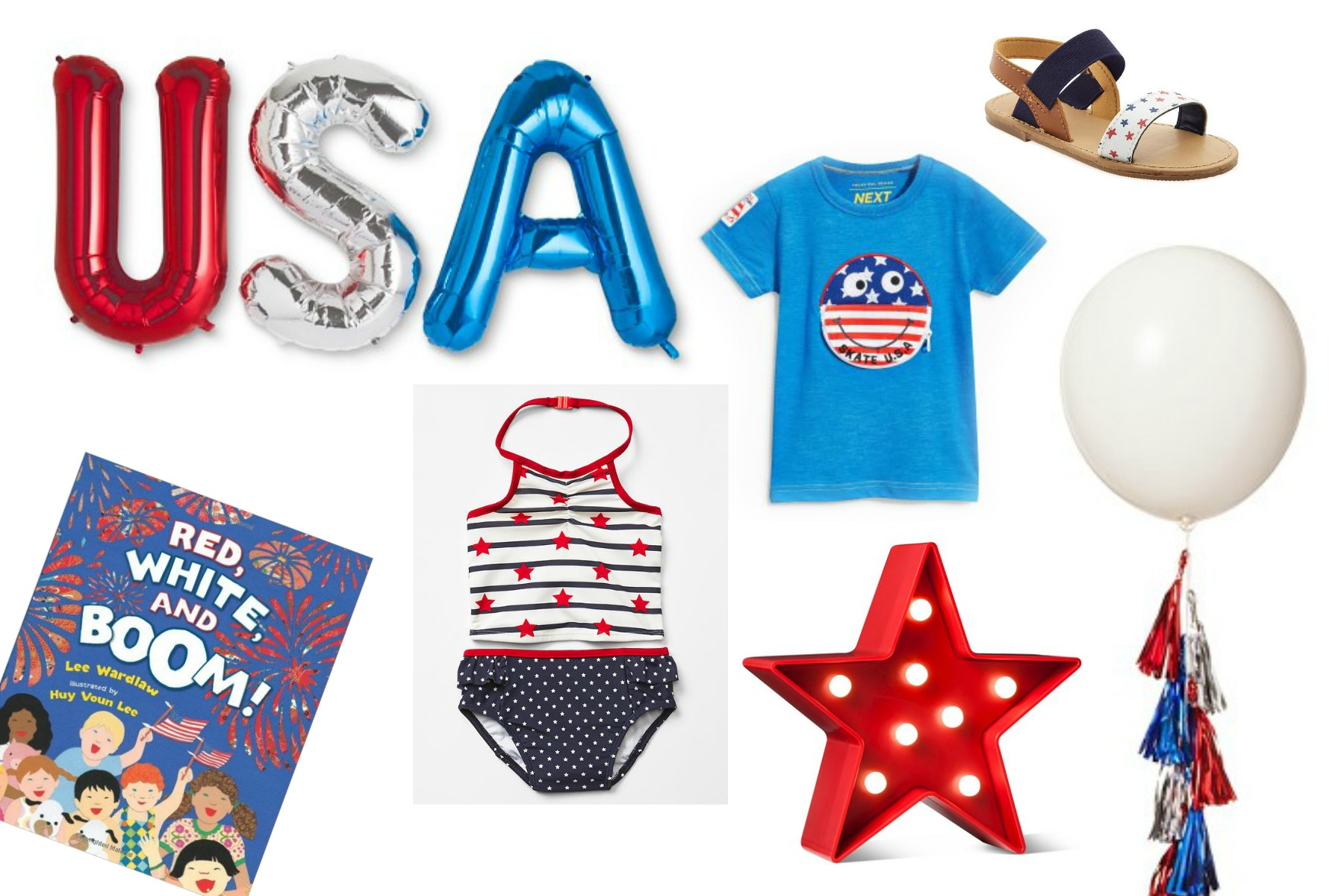 Red, White and Blue Favorites: My Patriotic Picks