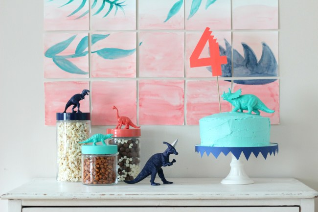 dinosaur party birthday treats