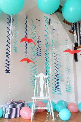 dinosaur party hanging pterodactyls streamers