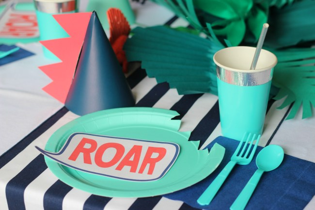 Modern Dinosaur Birthday Party