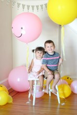 smiley face balloons owen and carm