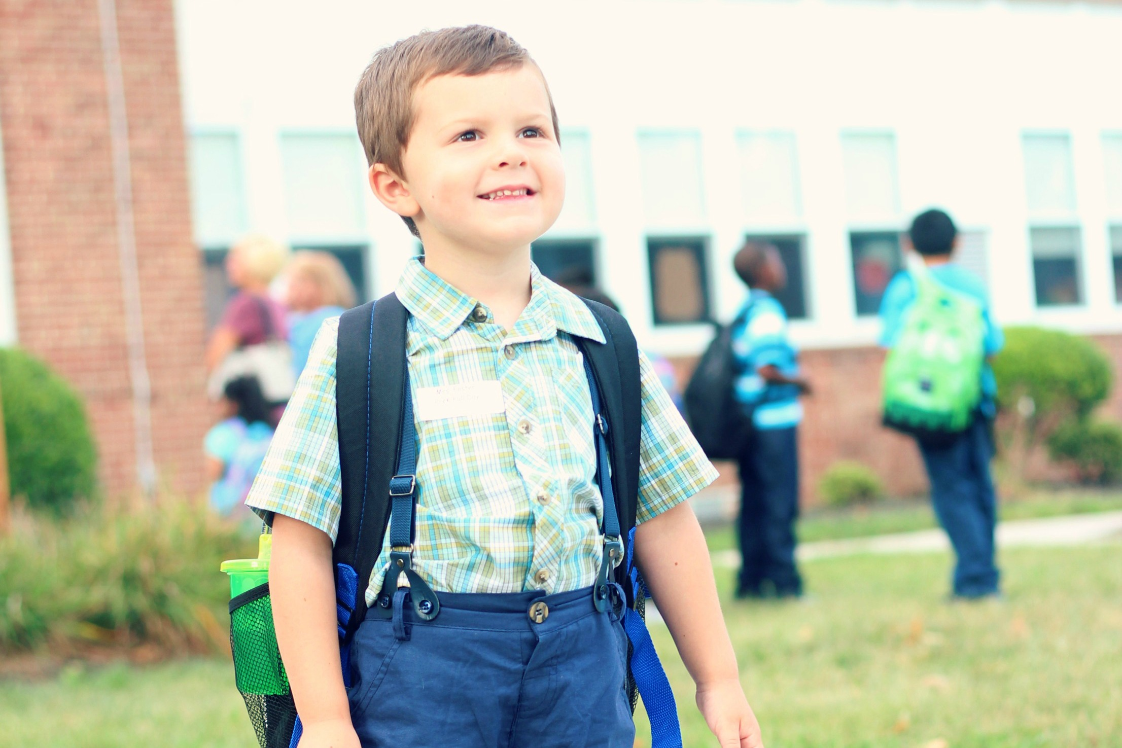 Owen's First Day of Preschool