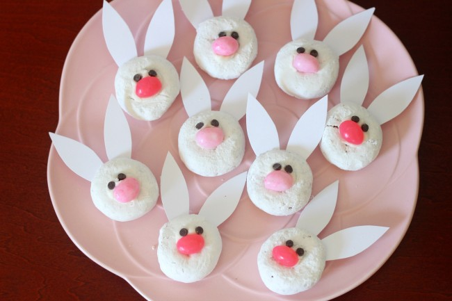bunny donut treats for easter