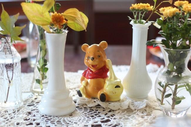 boho winnie the pooh birthday party 1
