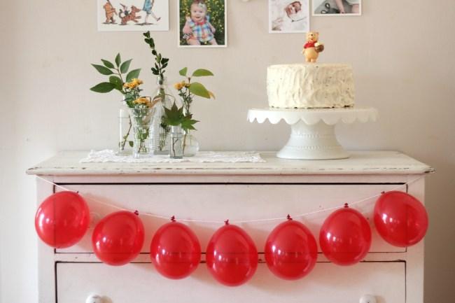 boho winnie the pooh birthday party 36