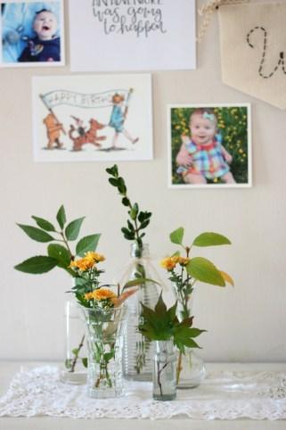 boho winnie the pooh birthday party 6