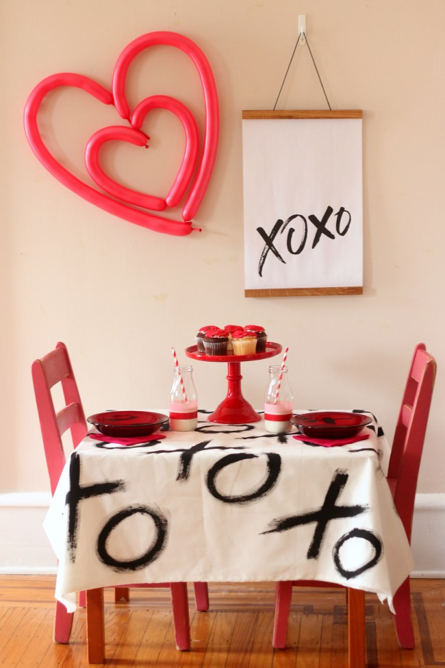 Valentine's Day Party Ideas XOXO for kids