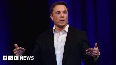 Elon Musk accidentally tweets his private phone number - BBC News
