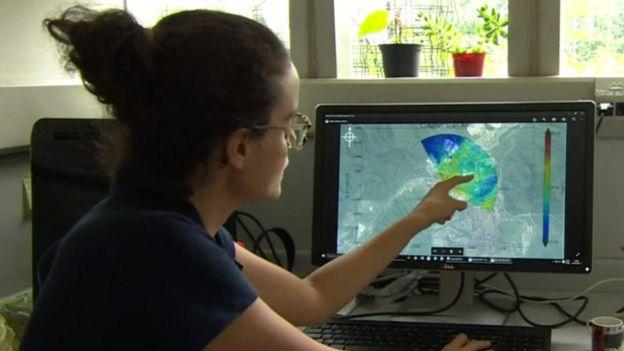 Monitoreo de la contaminación en Cubatão