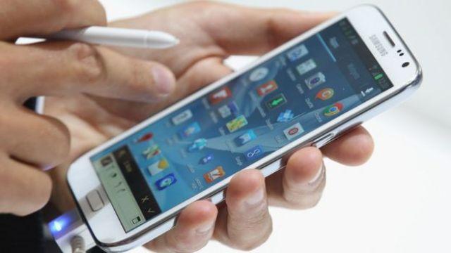 Celular da Samsung
