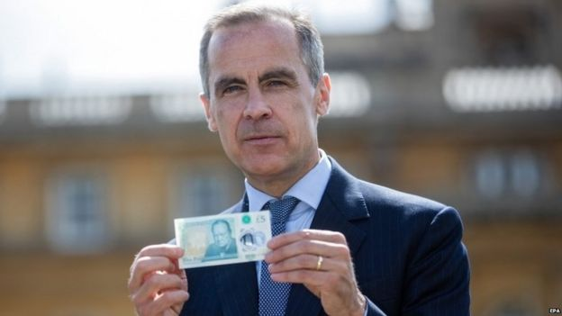 Mark Carney with the UK