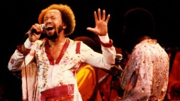 Maurice White performs with Earth, Wind & Fire in Oakland, California (01 December 1979)