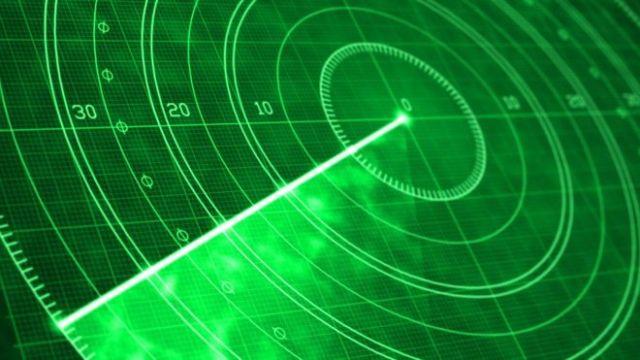 Tela de radar