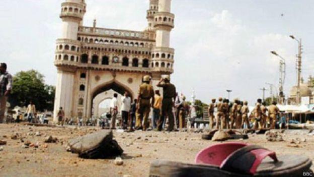 हैदराबाद स्थित चारमीनार (फ़ाइल फ़ोटो)