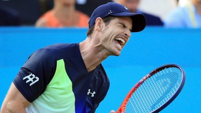 Queen's 2018: Andy Murray loses to Nick Kyrgios on return from injury - BBC Sport