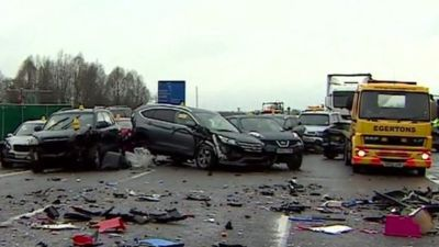 Four people killed in crashes on the M1 and M40 - BBC News