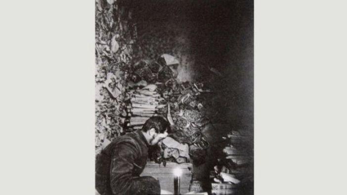 El investigador francés Paul Pelliot