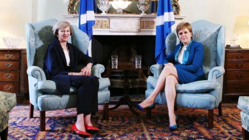 May and Sturgeon