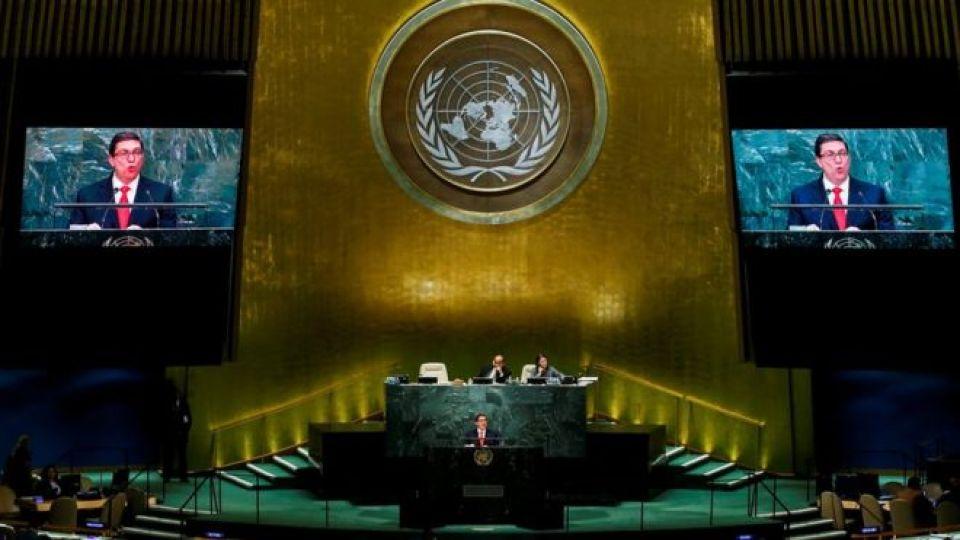 Plenario de Naciones Unidas