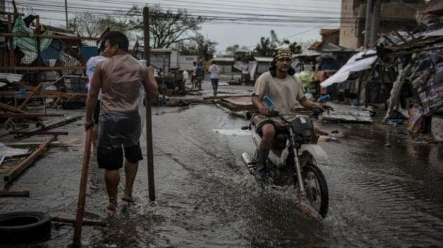 Duufaanta ayaa dhibaata ka gaystay gobolka Cagayan dalka Philippines