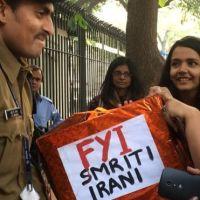 India - Unique campaign  to educate ' ignorant'   Minister Smriti Irani   #Vaw