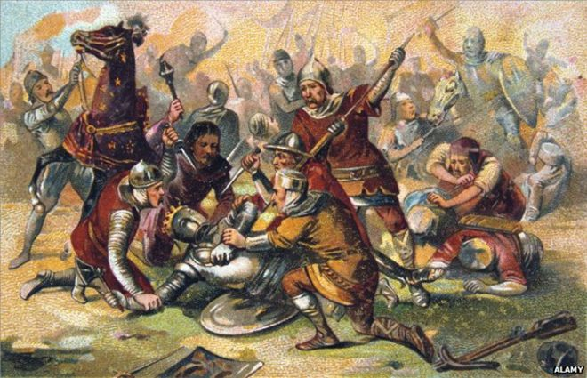 The most important battle you ve probably never heard of   BBC News The Battle of Bouvines