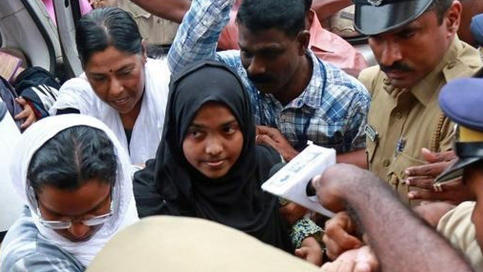 Hadiya Jahan was born into a Hindu family, but converted to Islam and married a Muslim man