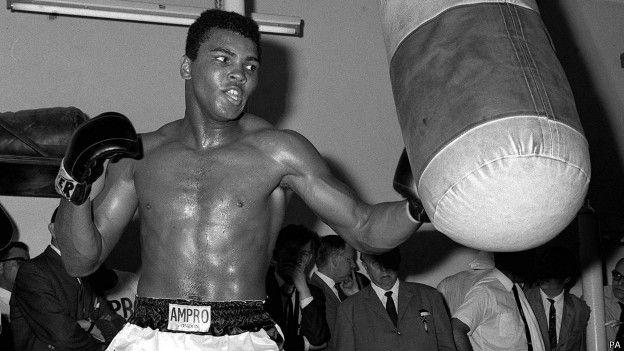 Muhammad Ali, boxing