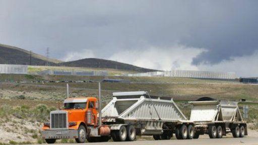 Imagen del nuevo centro de recolección de datos de la NSA