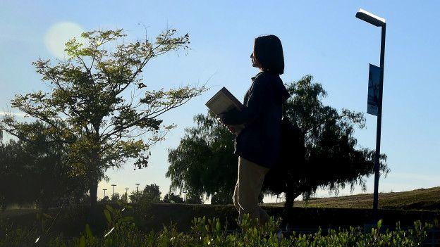 Estudiante china en California