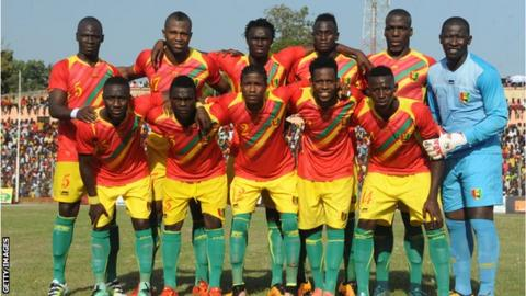 The Guinea national team