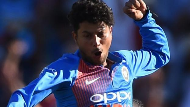 Watch: Record-breaking Kuldeep bamboozles England's batsmen