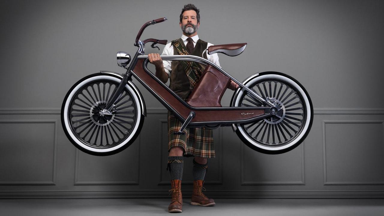 Wheels of change (Credit: Photo: Cykno electric cycle, courtesy of Engeenius)
