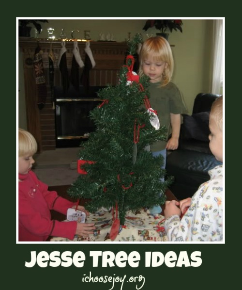 Jesse Tree Ideas