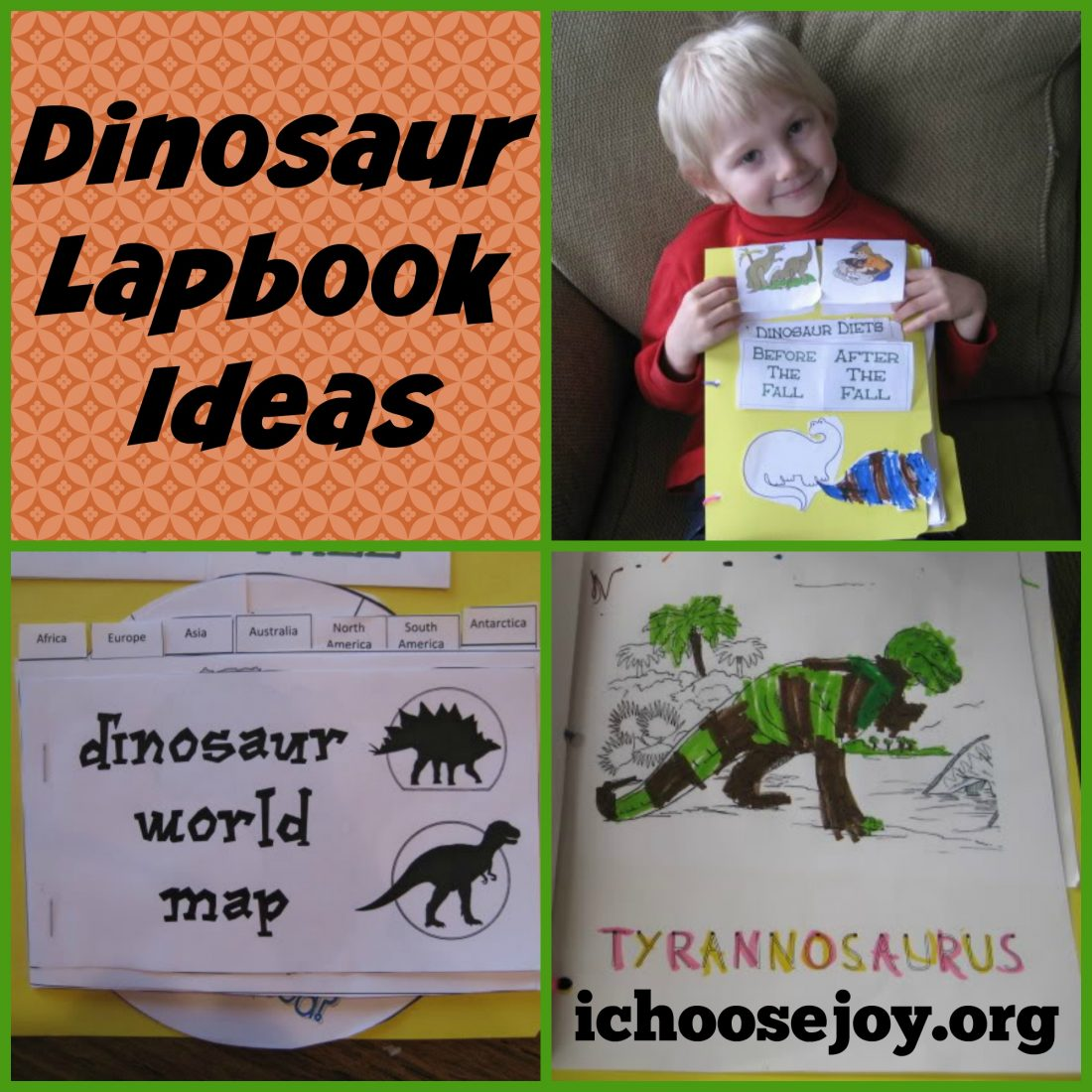 Dinosaur Unit Study and Lapbook